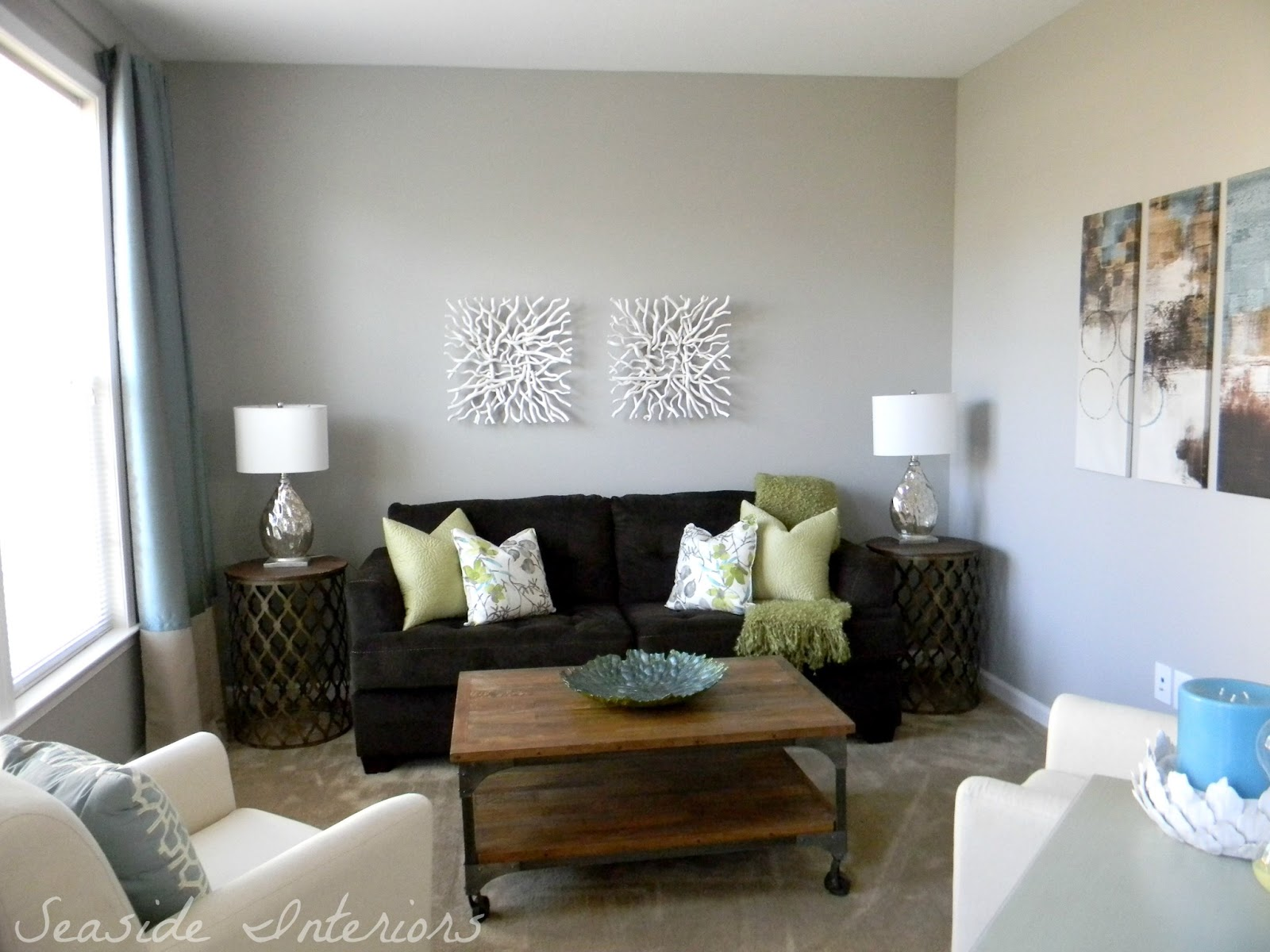 Contemporary Living Room Reveal Start To Finish