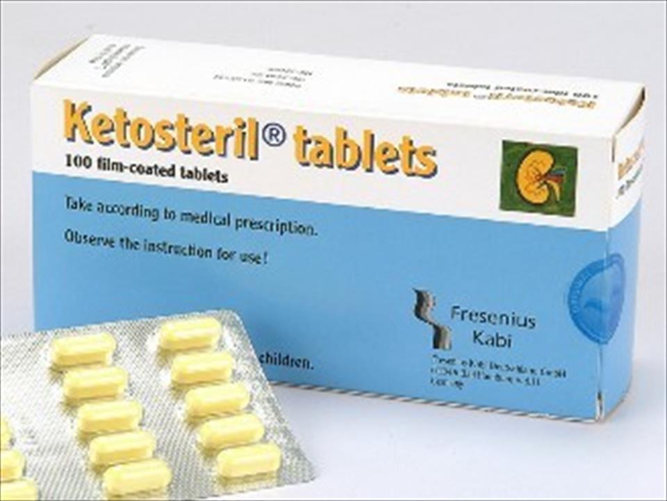 treatment for kidney disease: Ketosteril for Lowering