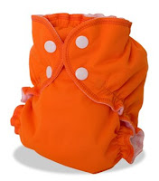 AppleCheeks Cloth Diaper Orange You Glad