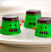 Easy Dessert Recipes for Kids MMMMonster Jigglers