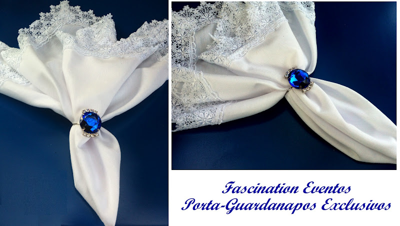 decoracao de casamento azul marinho amarelo e branco:By Fascination Eventos de Ane com Strass Azul Royal para Casamentos e