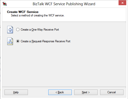 how to create a rest service in wcs