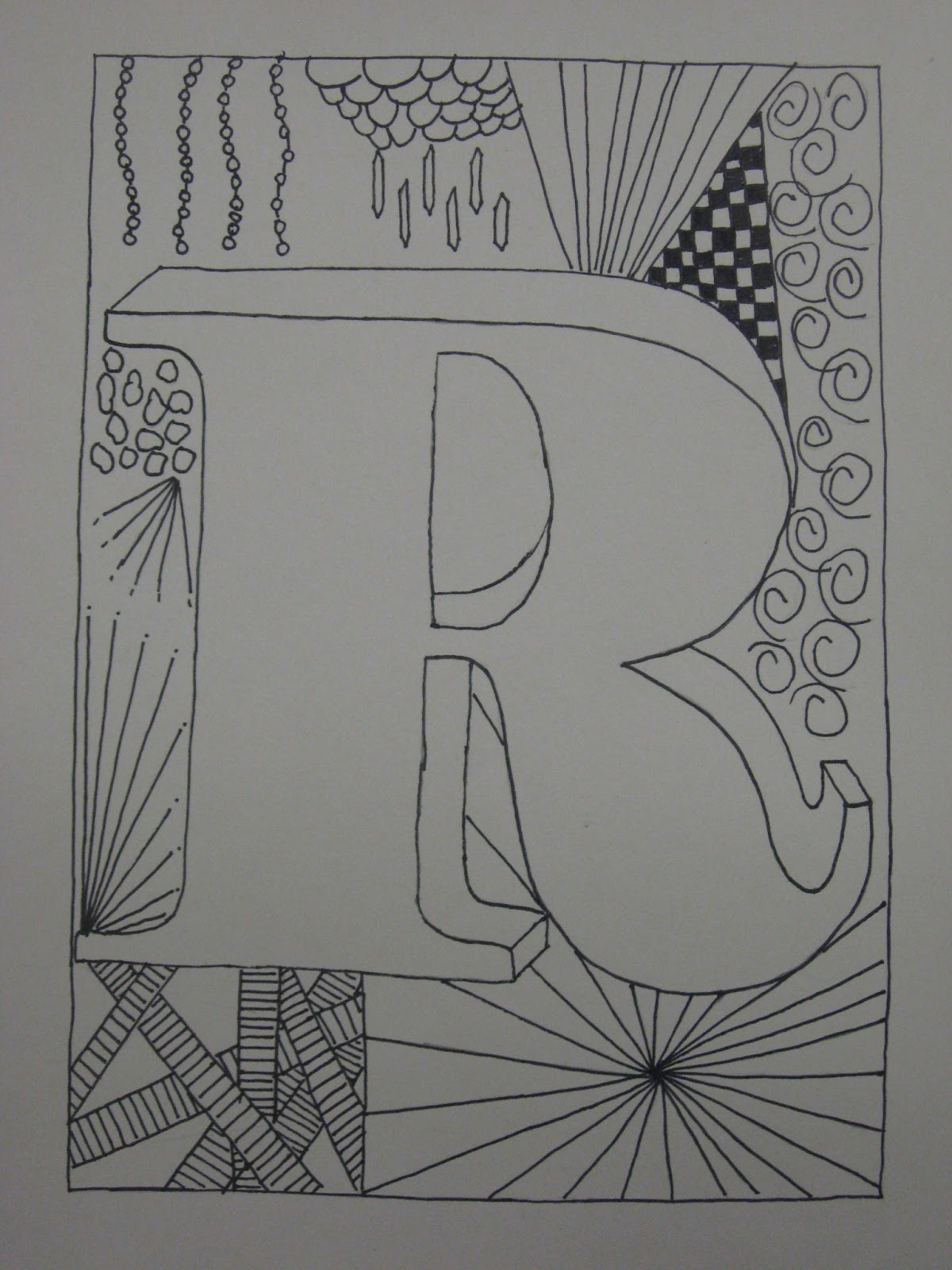 Line Art Grade : Miss young s art room th grade zentangles