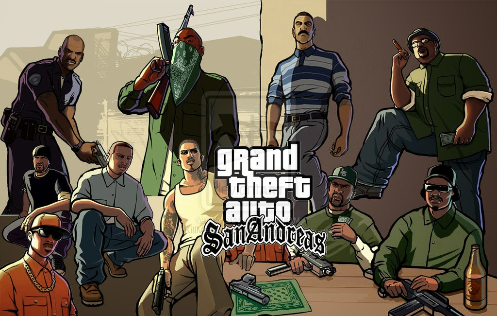 Kode Cheat GTA San Andreas komplit