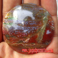 Batu Akik Pancawarna Antik Unik
