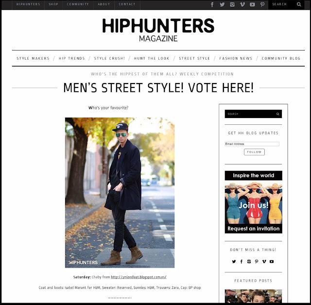 HIPHUNTERS.COM- MEN'S STREET STYLE