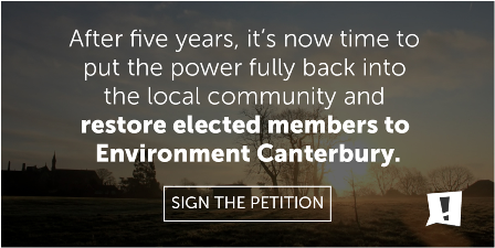 Return Democracy to Canterbury
