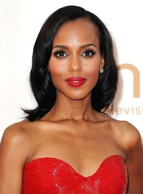 kerry+washington+emmys+2011+makeup Makeup Mondays With Mario: Bold Eyes AND Lips