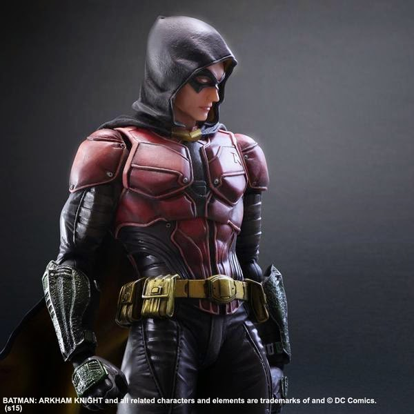batman arkham knight robin action figures