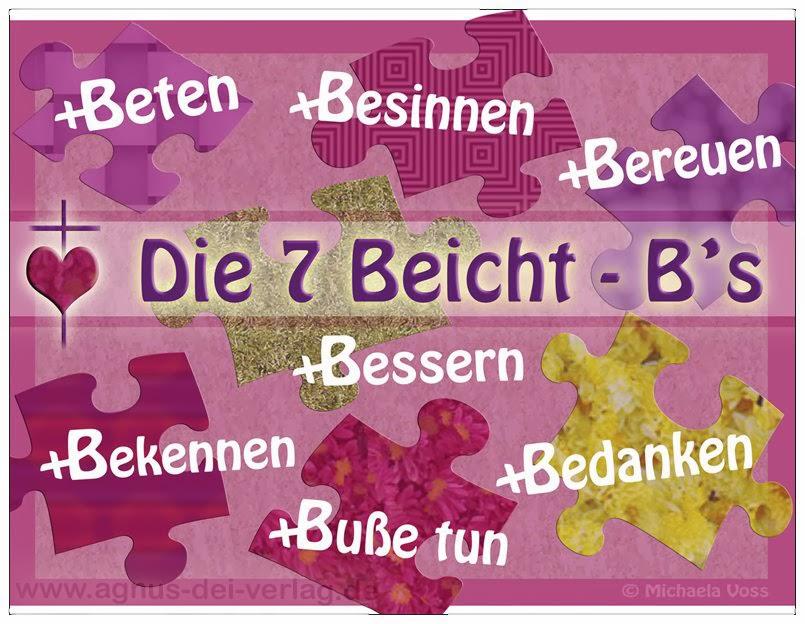 Die 7 Beicht-B's
