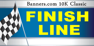 Finish Line Banners and Signs
