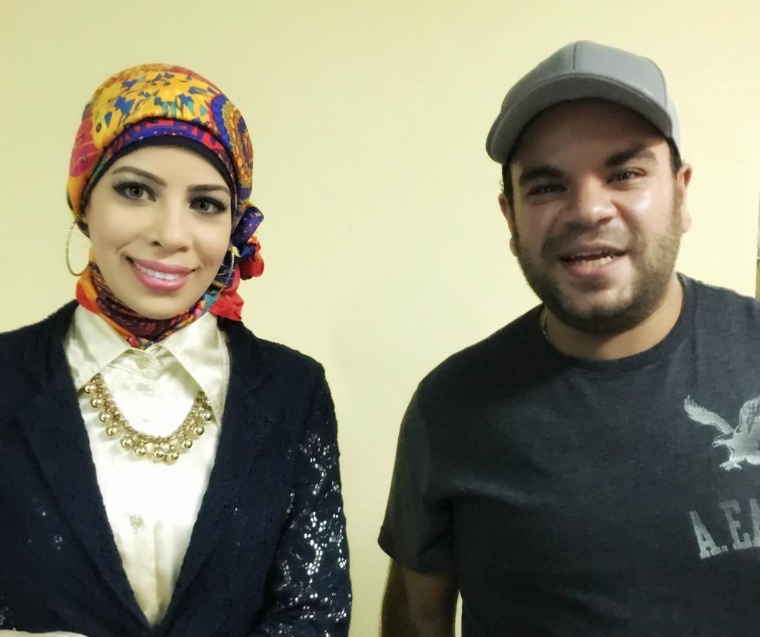 مع نجم مسرح مسرح الفنان محمد عبد الرحمن - سبتمبر 2016