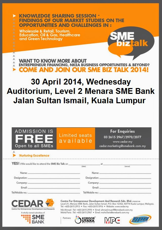 opportunities and challenges of sme business The challenges among malaysian sme: a theoretical perspective aware of the business challenges.
