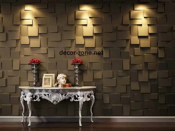 3d wall panels wall lighting - Decorative Wall Panels Design