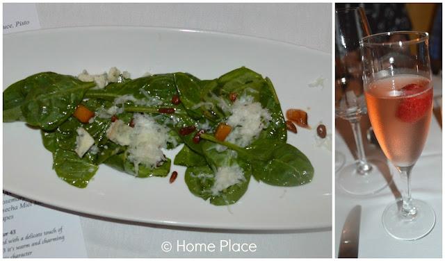 Ensalada Catalana  (Spinach Salad) at Brasitas Stamford CT