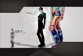 digital art, sci fi scene, conceptual character