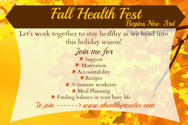 Fall Health Fest - Keeping the Holidays Healthy!!