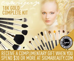 My favorite makeup brushes! Free Gift with purchase over  $30!