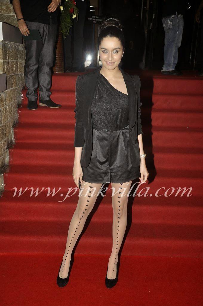 Shraddha Kapoor heart stockings