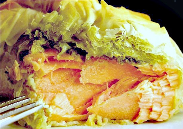 salmon recipe, salmon parcels, recipe for salmon