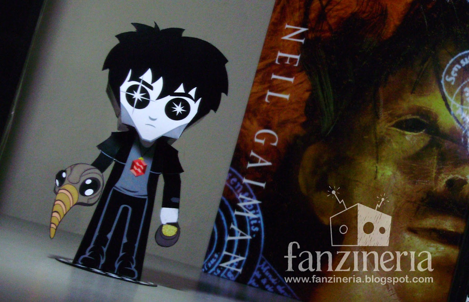 The Sandman Dream Papercraft