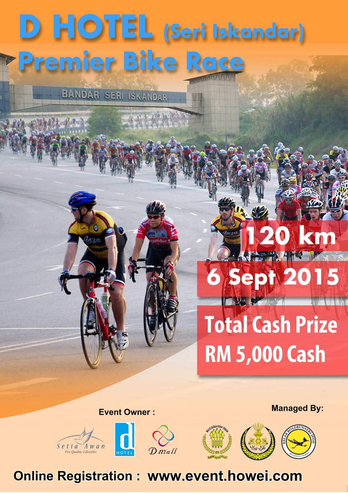 ONLINE REGISTRATION : D HOTEL PREMIER BIKE RACE
