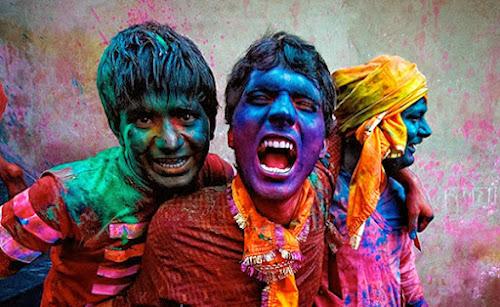 Holi o festival das cores