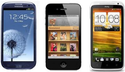 Smartphone Market Share Trends