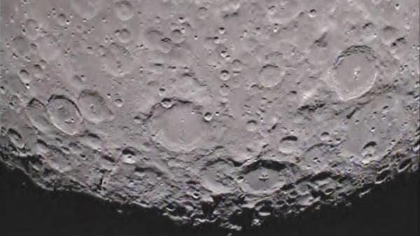 permukaan bulan, kawah bulan