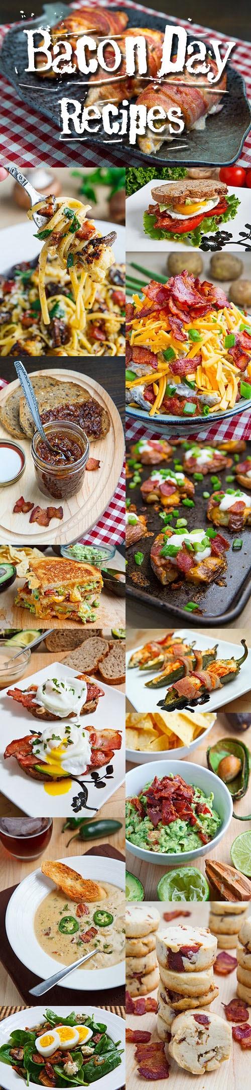 Bacon Day Recipes