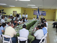 Consejo de Ministros en Olanchito