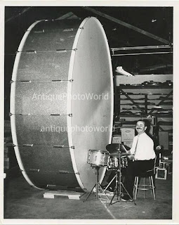 The biggest bass drum from Bobby Owsinski's Big Picture production blog