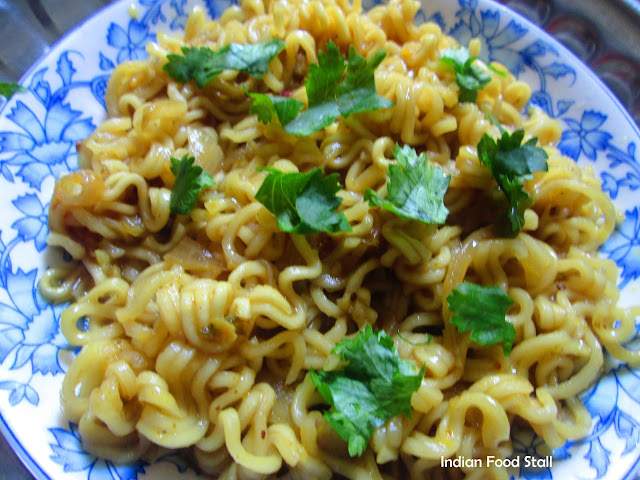 Spicy Maggi Noodles Recipe in South Indian Style