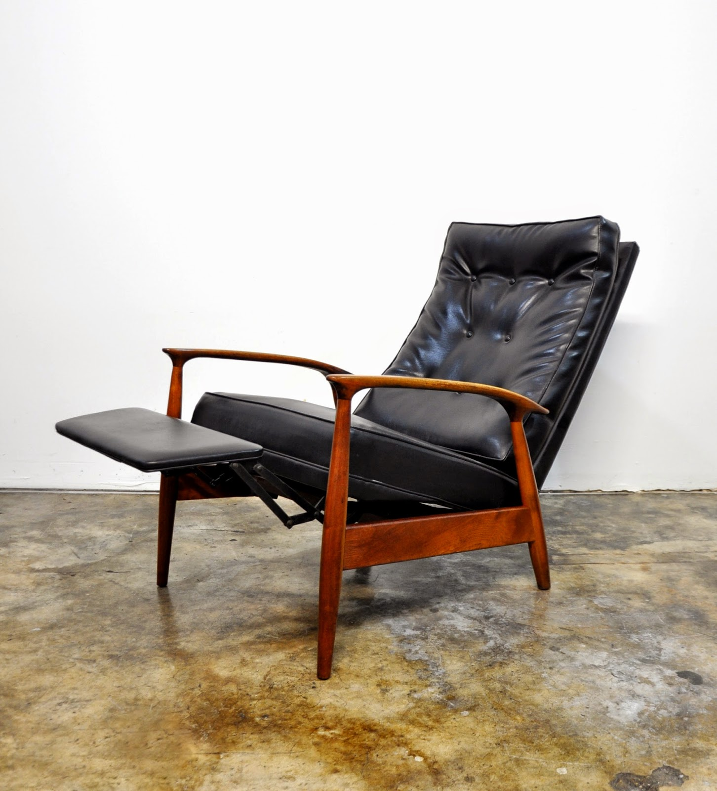Select Modern Milo Baughman For Thayer Coggin Inc Recliner Lounge