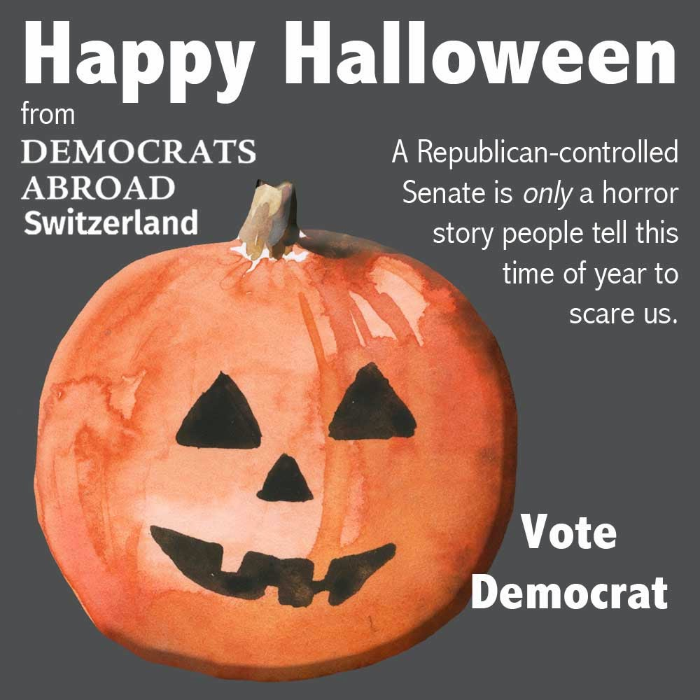Happy Halloween from Democrats Abroad