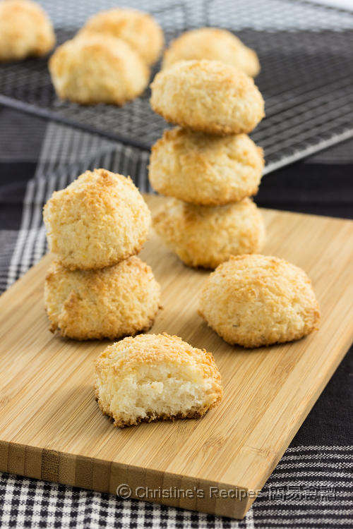 Coconut Macaroons | Christine's Recipes: Easy Chinese Recipes ...