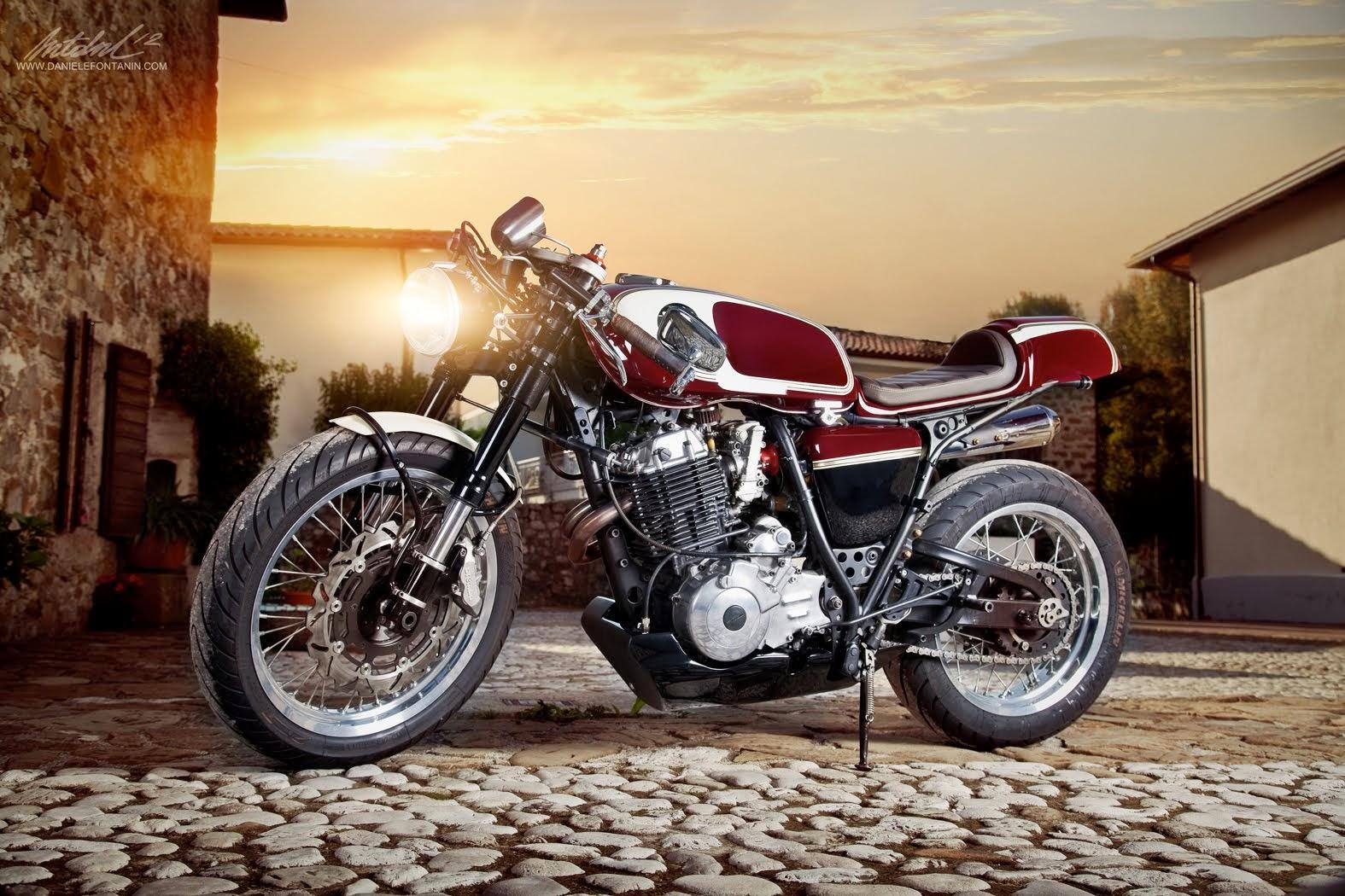 Yamaha tenere 600 cafe racer by plan b motorcycles lsr bikes for Moto regalasi
