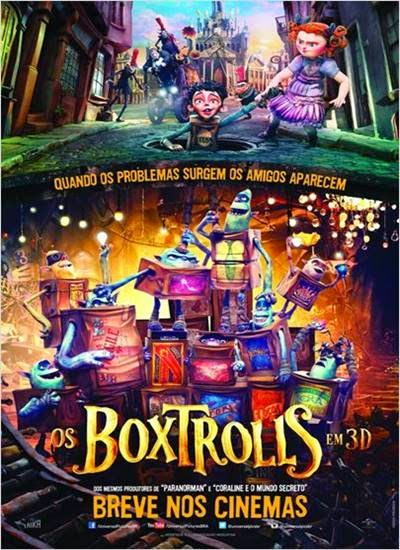 Baixar Os Boxtrolls AVI + RMVB Dublado Torrent