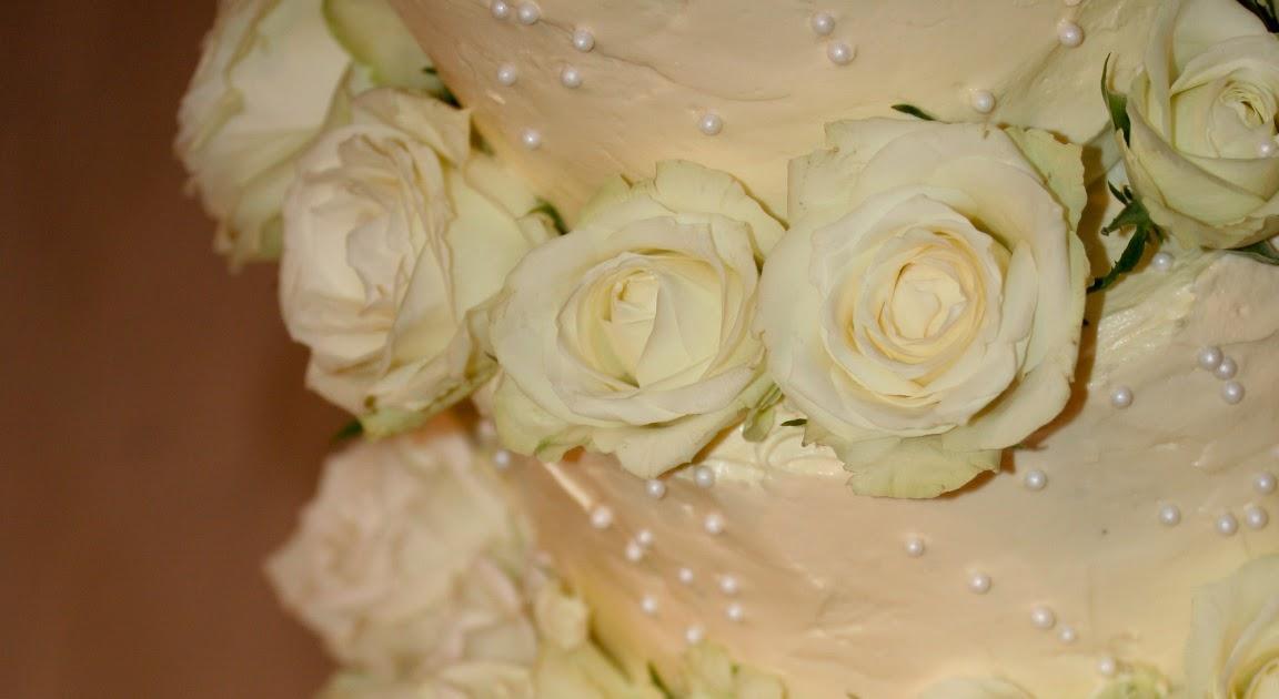 Sugar & Spice: Wedding cake, Adele and Rene.