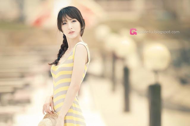 1 Lovely Shin Sun Ah Outdoor  - very cute asian girl - girlcute4u.blogspot.com