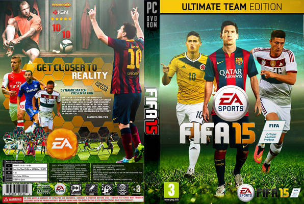 تحميل وتثبيت لعبة FIFA 15 برابط واحد مباشر