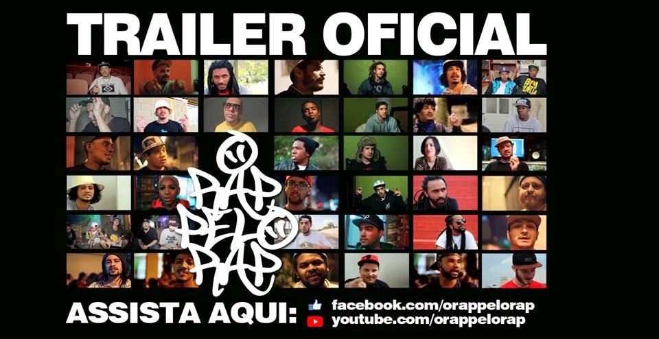 "Assista o trailer oficial do documentario ""O Rap pelo Rap"""