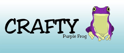 Crafty Purple Frog