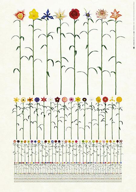 Takahiro Kurashima, diseño grafico,arte,publicidad,art,graphic design,flores,flowers,Millelium