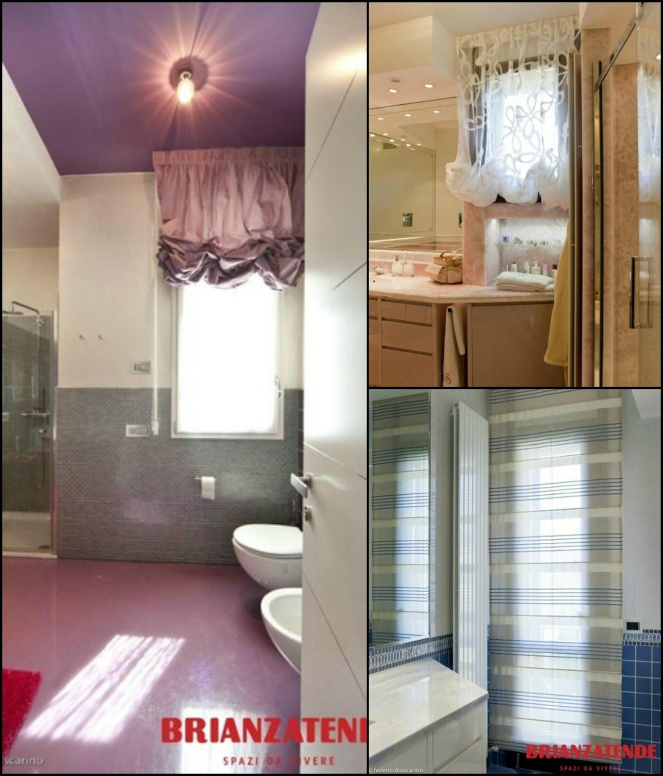 Tende per finestre da bagno vb04 regardsdefemmes for Tende casa classica