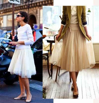 falda de tul para bodas