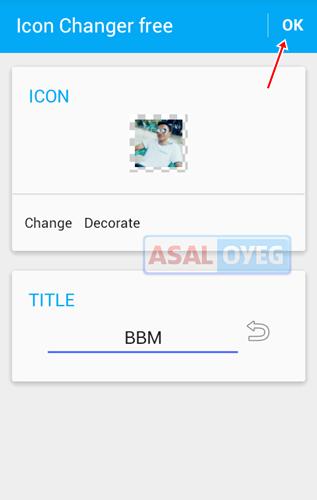 Cara Mengganti Icon BBM di Android Tanpa Root