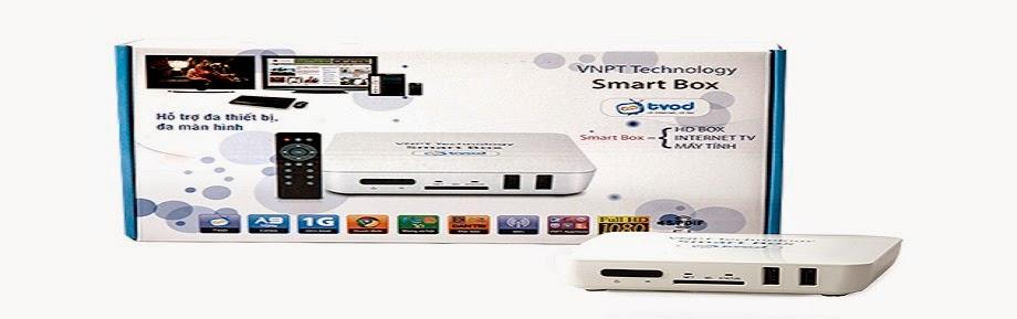 Bán VNPT Smartbox, sản phẩm giải trí cực HOT cho gia đình
