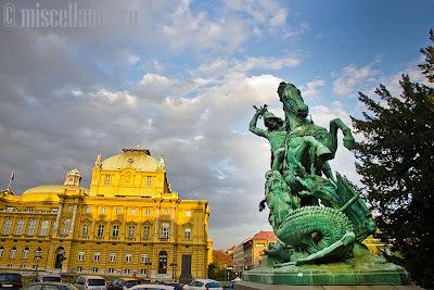 Zagreb Statue Michael