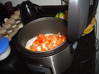 Arroz para fritar na panela elétrica